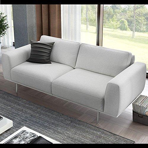 Designer Sofa Sofagarnitur 2-Sitzer Textil Stoff Couch Couchgarnitur 2er Polstergarnitur
