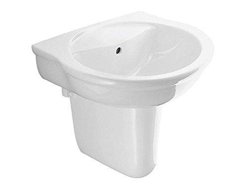 Ideal Standard Waschbecken SAN REMO E7462 Breite 60cm ohne Hahnloch weiß Ideal Plus
