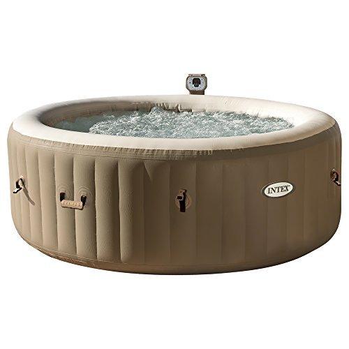 "Intex Whirlpool Pure SPA 77"" Bubble Massage, Braun, Ø 196 x 71cm"