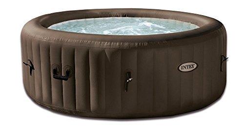 """Intex Whirlpool Pure SPA 77"""" Jet Massage,, Braun, Ø 196 x 71cm"""