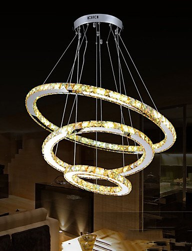 Ling@ Kronleuchter - Kristall/LED - Zeitgenössisch/Traditionell-Klassisch/Tiffany/Rustikal - , cool white-220-240v