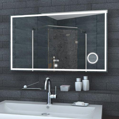 Luxaqua Badezimmerspiegel Wandspiegel Lichtspiegel LED