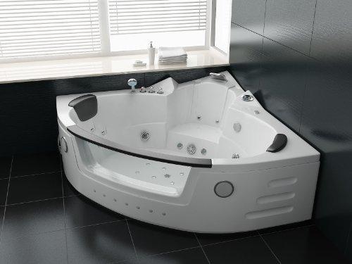 Luxus Whirlpool Badewanne 172x172 in Vollausstattung (Massage) - Sonderaktion