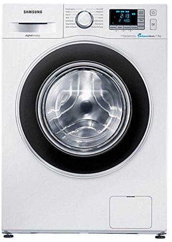 Samsung WF70F5EBP4W/EG Waschmaschine Frontlader / A+++ / 7 kg / Weiß / Schaumaktiv Technologie / Digitaler Inverter Motor / Smart Check