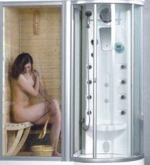 Sauna+Dampfduschkabine+Dusche 98860