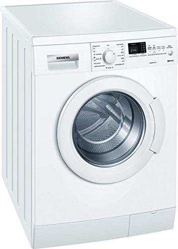 Siemens WM14E347 Waschmaschine FL/A+++/152 kWh/Jahr/1365 UpM/6 kg/10372 L/Jahr/Aquastop/weiß
