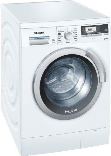 Siemens iQ700 WM14S840 Waschmaschine Frontlader/A+++/1400 UpM/8 kg/weiß/i-Dos/Dessous Programm/super15/ecoPlus