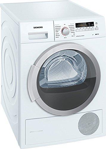 Siemens iQ700 WT46W2FCB iSensoric Wärmepumpentrockner/A++/7 kg/Selbstreinigender Kondensator/SoftDry-Trommelsystem/Knitterschutz