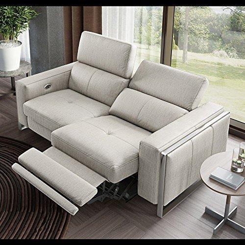 Stoff Sofa Sofagarnitur Relaxfunktion Relax Couch Funktionssofa Fernsehsofa