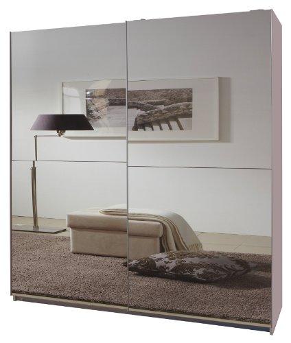 Wimex Kleiderschrank/Schwebetürenschrank Queen, (B/H/T) 135 x 198 x 64 cm, Weiß