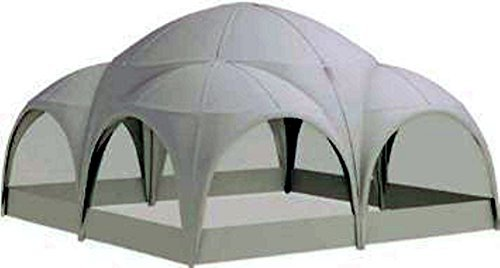 ZELT DESIGN WILLIAM 6x6m weiss rund Pavillon Partyzelt Garten Event Terrasse
