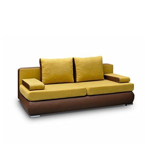 Sofa Luiza Polstersofa Couch Couchgarnitur, Komfortsofa, Wohnzimmer Schlafsofa Modern
