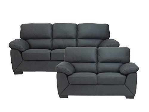 Sofagruppe RICA in grau 2-und 3 Sitzer Couchgarnitur Couch
