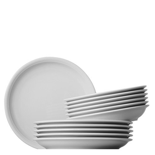 Thomas 11400-800001-18339 Trend Tafel Set 12-teilig, weiß