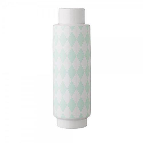 Bloomingville Vase weiß/mint