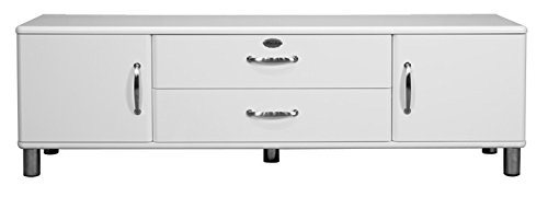 Lowboard / TV-Bank Malibu 5156 in weiß von Tenzo