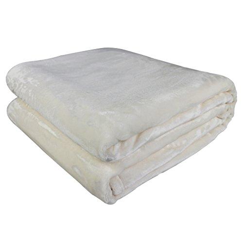 AuraLum Decke Wolldecke Polyester Kuscheldecke für Ihre schöne Wohnzimmer oder Sofa