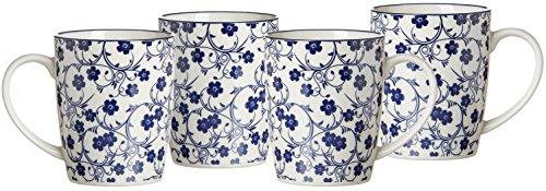 Ritzenhoff & Breker Serie Royal, Porzellangeschirr, Blau-Weiß