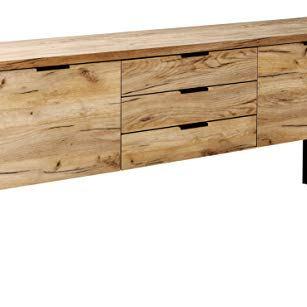Amazon Marke -Movian Ems - Sideboard mit 2 Türen und 3 Schubladen, 180x39,5x76,2cm
