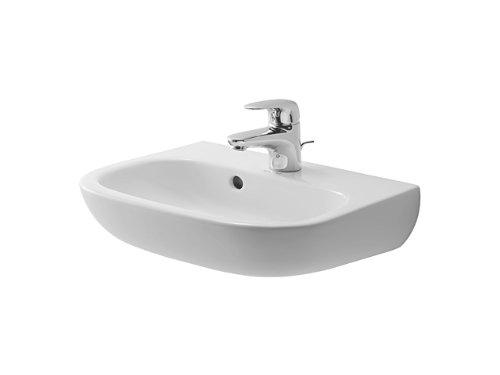 Duravit Handwaschbecken D Code Breite 45cm weiß, 705450000