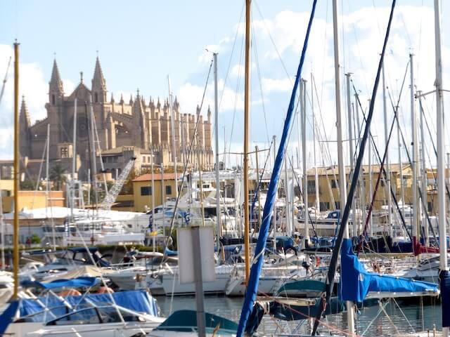 Kathedrale_Jachthafen_Palma