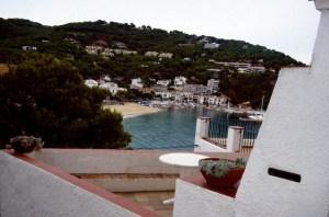Spanien Costa Brava Blick auf Cami de Ronda