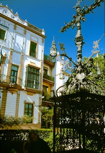 Sevilla Plaza de Santa Cruz 2010-03-16 Foto Elke Backert