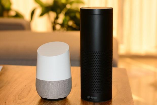أجهزة المنزل الكية غوغل هوم و أمازون أليكسا