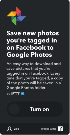 آبلت حفظ الصور التي تم وسمك بها في فيسبوك