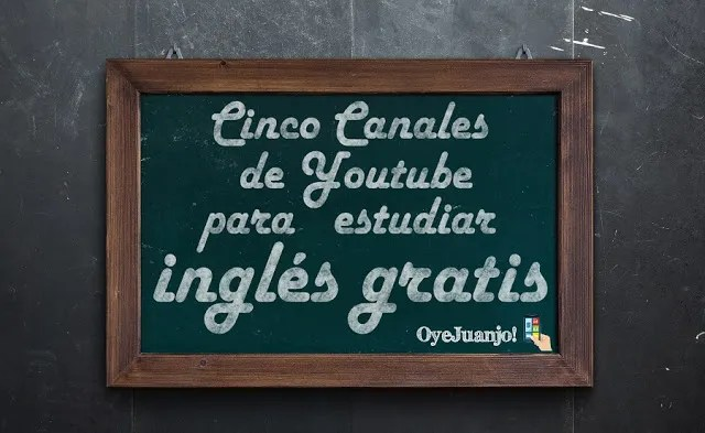 Cinco canales de Youtube para estudiar ingles gratis-2