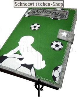 Mutterpasshülle für Fussballer