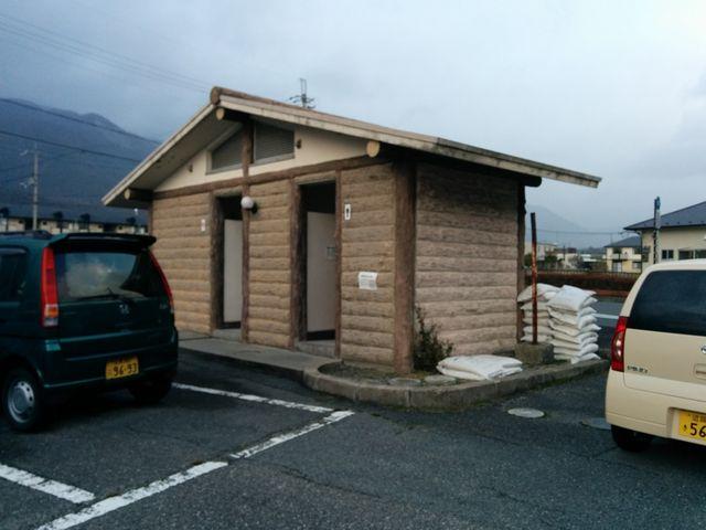 志賀駅駐車場のトイレ