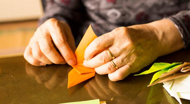 家でできる折り紙