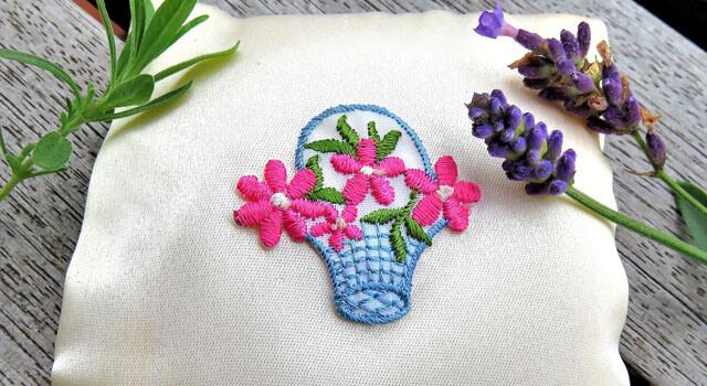 家でできる刺繍
