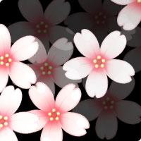 イラスト無料素材集Lemonの桜素材