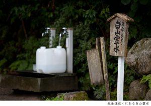白山比咩神社 白山霊水