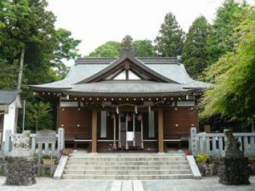 神場山神社スポット