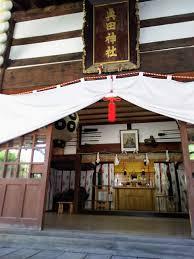 真田神社 拝殿