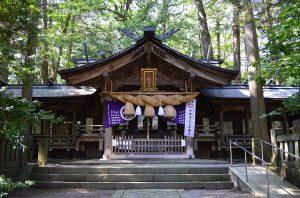 小野神社 拝殿