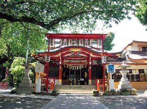 居木神社スポット