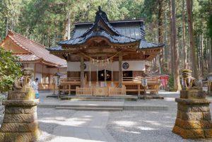 御岩神社スポット