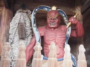 中山寺 金剛力士像