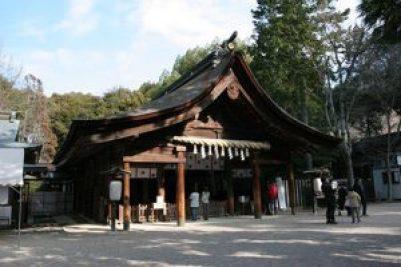 大縣神社 拝殿
