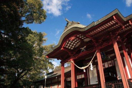 鹿児島神宮 社殿
