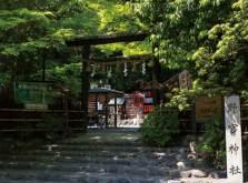 京都 嵐山に佇む野呂神社