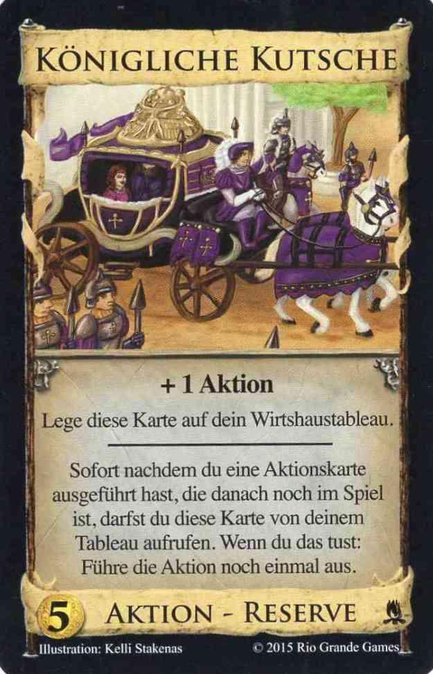 Dominion Abenteuer Königliche Kutsche