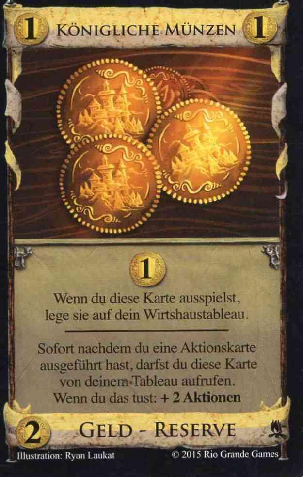 Königliche Münzen