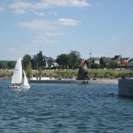 Segelboot auf dem Phoenix-See Dortmund/ Foto: Ruhl