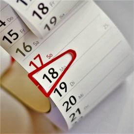 Kalender/ Foto: pixabay, congerdesign