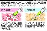 【これスゴイ!】がん細胞をウイルスに感染させて破壊するウイルス療法が鹿児島大学で治験開始へ。